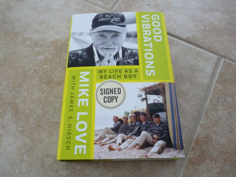 Mike Love Beach Boys Good Vibrations Signed Autographed Book PSA Guaranteed