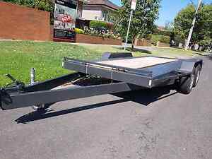 Car trailer with ramps Maribyrnong Maribyrnong Area Preview
