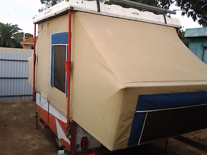 Canvas camper trailer North Adelaide Adelaide City Preview