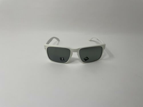 Oakley Holbrook OO9102-J655 Matte White Frame w Prizm Black Iridium Lens