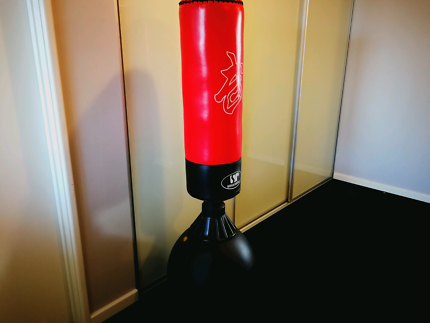 Boxing bag (standing) in great condition - used a few times