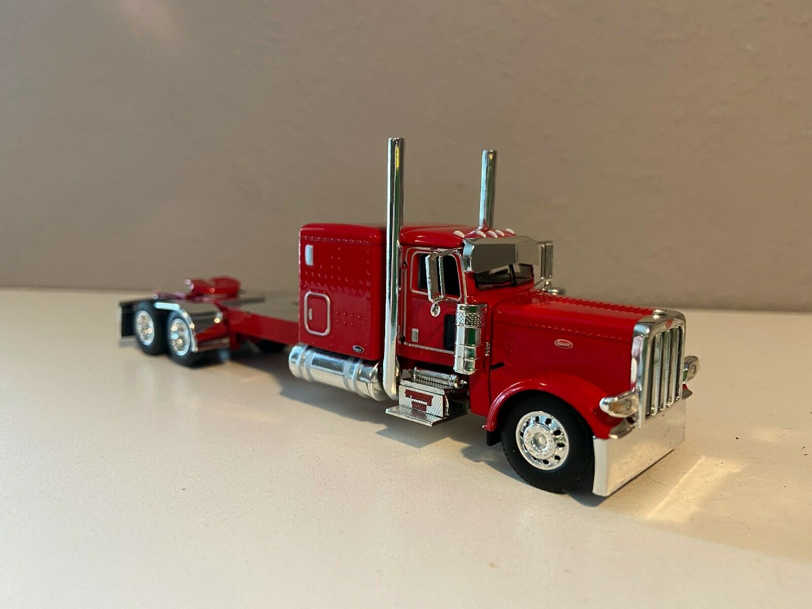 "NEW DCP RED PETERBILT 389 60"" BUNK 320"" FRAME (6 12"" long)"