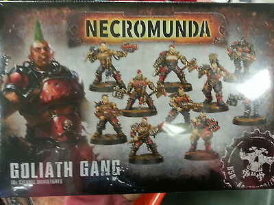 NECROMUNDA GOLIATH GANG - NEW & SEALED