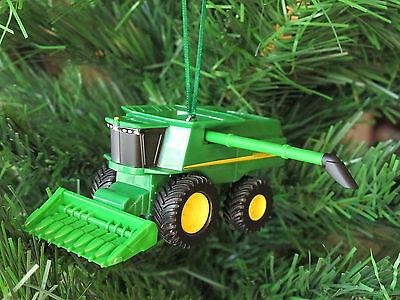 John Deere Combine Harvester Christmas Tree Ornament