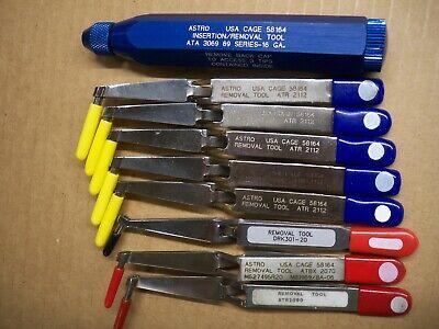 Astro Removal Extraction Tool 10 Pc Lot Ata3069 Atr2112 Atbx2070 Atr2080 Drk301