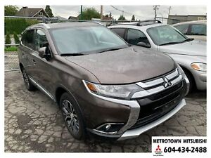 2017 Mitsubishi Outlander ES Premium; Local & No accidents! CERT