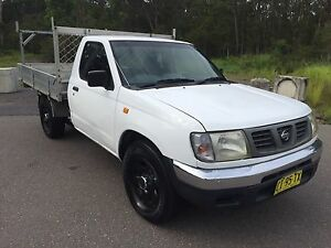 NISSAN D22 NAVARA 3 LITRE V6 PETROL 5 MONTHS REGO A/C TRADIE Morisset Lake Macquarie Area Preview