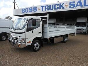 2009 816 Hino Dropside Tray Rocklea Brisbane South West Preview