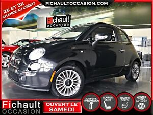 FIAT 500 C LOUNGE 2013***CONVERTIBLE*** AUTOMATIQUE***