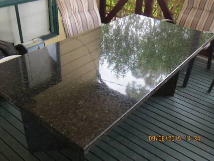 granite outdoor table Traralgon Latrobe Valley Preview
