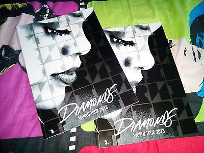 Rihanna Diamonds UK Tour Programme 2013 Brand New
