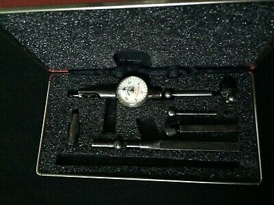 Starrett No 711 Last Word Dial Indicator Set In Original Case