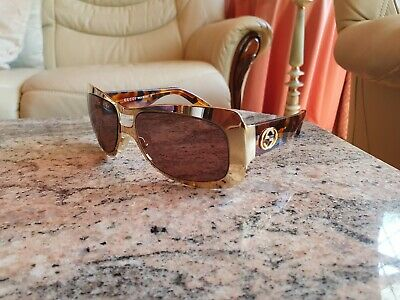 Vintage  Gucci Brown Gold   Sunglasses GG2617/S   Genuine  SMALL