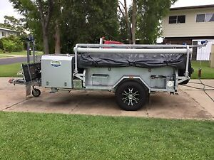 2015 Nomad Off Road Camper Trailer Tieri Central Highlands Preview