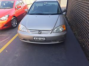 Honda civic 2001 Sedan Toongabbie Parramatta Area Preview