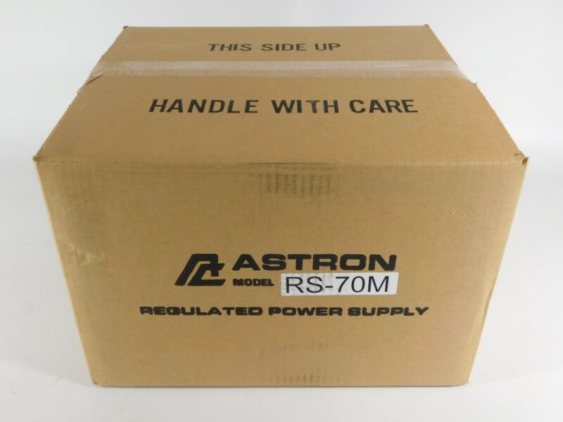 Astron RS-70M Ham Radio 70 Amp Metered Power Supply (new in factory sealed box)