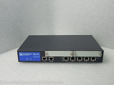 Juniper Ssg 20 Sh Secure Services Gateway With Ac Adapter 90 Day Warranty
