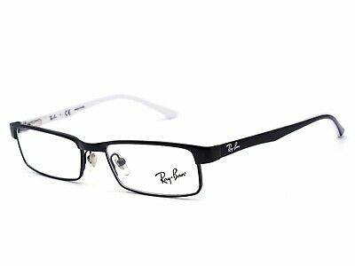 New Ray-Ban KIDS RB1032 4005 47MM Black White RX Prescription Eyeglasses (Kids Prescription Glasses)