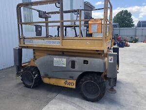 Diesel all terrain scissor lift Mowbray Launceston Area Preview