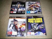 Lots of four Playstation 3 games Fairview Park Tea Tree Gully Area Preview