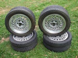 JJD TWIN TYRE WHEELS. SET OF 4 WITH CENTRE CAPS. x POLICE PURSUIT Jimboomba Logan Area Preview