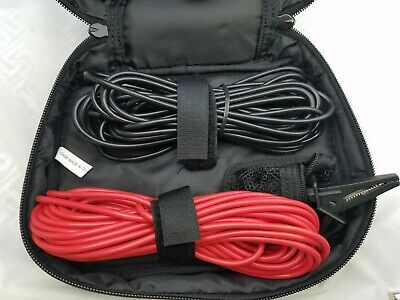 Test Leads 25 Ft Red And Black With Banana Plugs Black Alligator1kv 16a
