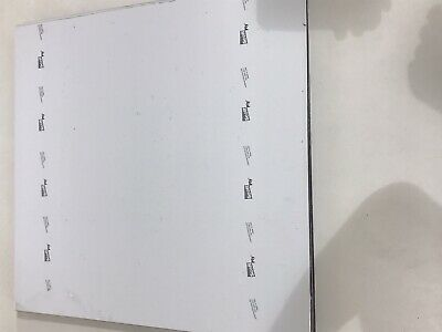 Scott Engraving Plastic Sheet 3 Ply .125 X 20.5 X 21. Whiteblackwhite
