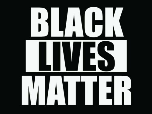 """Black Lives Matter - Yard Sign - Double Sided - 18""""x24"""" with stakes included!"""