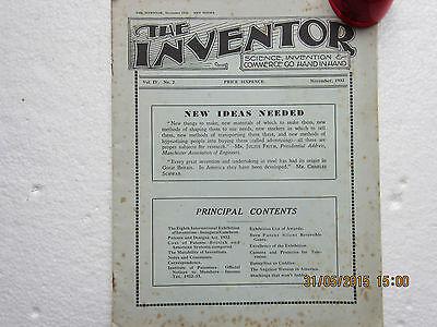 THE INVENTOR MAGAZINE-1932