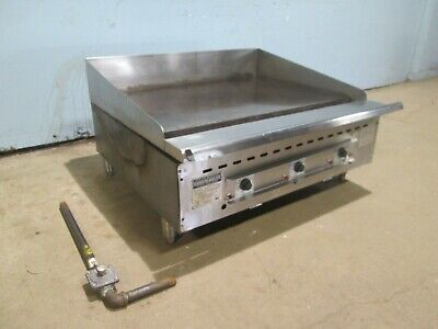 Rankin-delux Hd Commercial Nsf Counter-top Thermostic Nat. Gas 36 Griddle