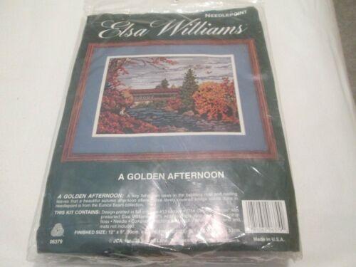 A GOLDEN AFTERNOON-ELSA WILLIAMS-NEEDLEPOINT KIT