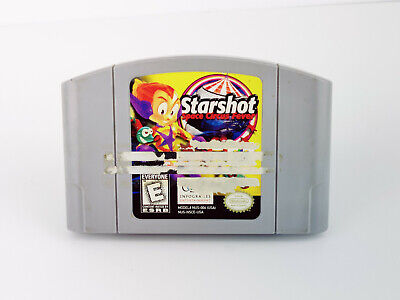 Starshot: Space Circus Fever (N64, 1999) AUTHENTIC, TESTED!