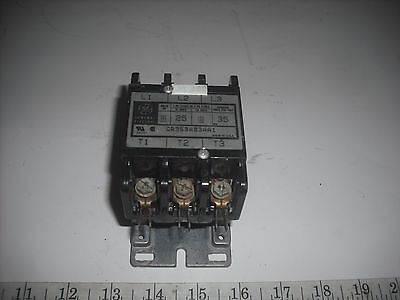 GE 25 AMP CONTACTOR 35 AMP RES/POLE, 2-3 POLE, 110/120V COIL MODEL CR353AB3AA1 Ge 25 Coil
