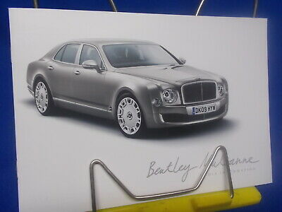 320) Bentley Mulsanne  PC CD - DVD Media Presse Information Press Pack gebraucht kaufen  Hohenhameln
