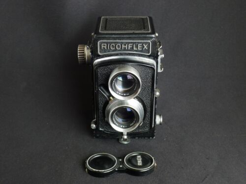 Ricoh Ricohflex  TLR Camera with 80mm f/3.5 Lens, Ready to Shoot