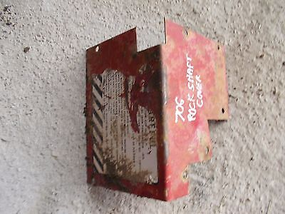 Farmall International 706 Ih Tractor Rockshaft Rock Shaft Cover Panel