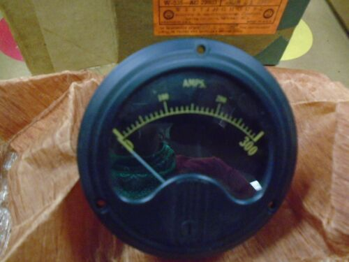 Vintage Westinghouse 0-300 DC Meter Ammeter type e-1  new 1947
