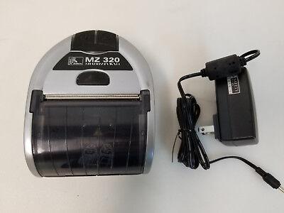 Zebra Mz320 Mz 320 Bluetooth Mobile Thrermal Receipt Printer With Oem Charger
