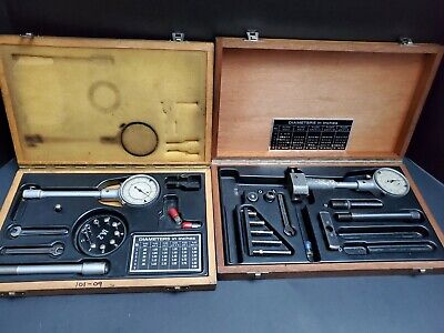 2 Swiss Made Interapid Bore Gage Set .8 - 12.4 Alina Machinist Metrology Gauge