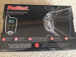 pro start remote car starter manual