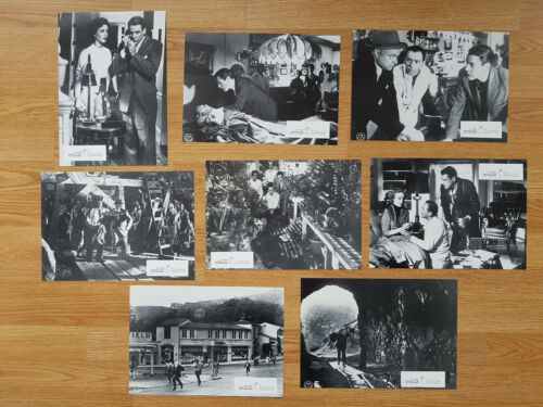 INVASION OF THE BODY SNATCHERS 1955 set of 8 German lobby cards 1978 DON SIEGEL