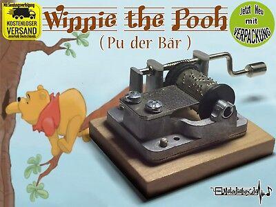 Winnie the pooh Spieluhr Musikuhr Musicbox Neu