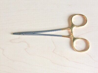 Aesculap Bm044r Durogrip Tc Ryder Needle Holder Serrated Jaw 5 14