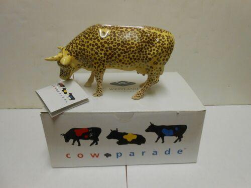 "Cow Parade ""Leopard Cow"" #9169"