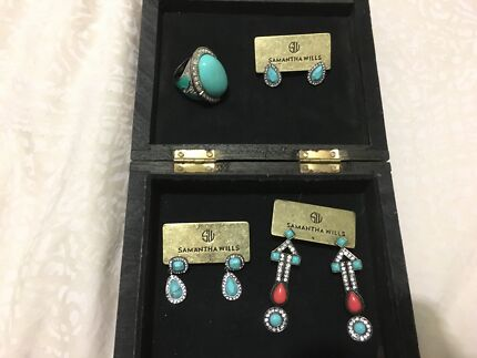 Jewellery, Samantha Wills, Brand New, ring and 3 pairs of earring