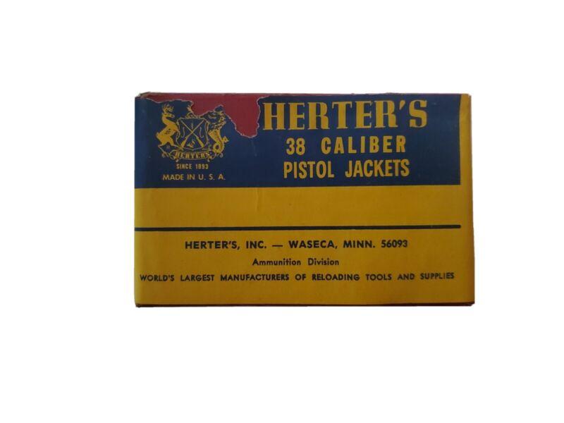 Herters .38 Copper Jackets