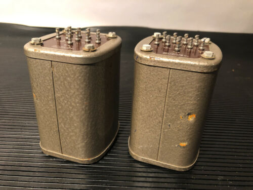 Pair of GARDNERS transformers type BS 6117 for preamp/ phonostage 14a RMS