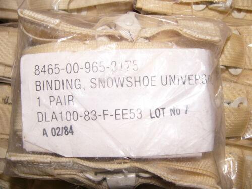 USGI Universal Snowshoe Bindings
