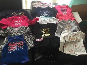 Lot of infants girls clothing newborn to size 12-18 months