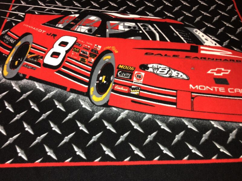 Dale Earnhardt Jr. FLEECE Blanket Throw #8 Red MONTE CARLO NASCAR